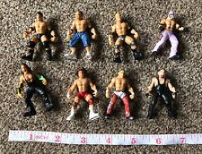 "Rare JAKKS Micro Aggression WWE Wrestling Figure 2""  2006 wrestlers Bundle X 8"