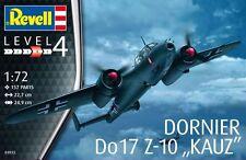 Revell 1:72 Escala Modelo Kit Dornier Do17Z-10 RV03933