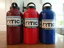 New Rtic 64oz Bottle Insulated Thermos - Red