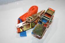 2 x Ratchet Tie Down Straps 25mm x 2.70m Orange