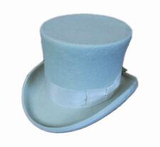"Classic 7"" Top Hat / Wool Felt Gentleman Steampunk Groom Wedding Topper Hat"