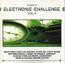 Various - 14 Years Of Electronic Challenge Vol. II (2) CD 1997 Electronic EBM