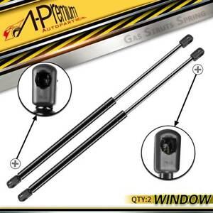 For Kia Sportage 2004-2010 Series II 2x Rear Tailgate Window Glass Gas Struts