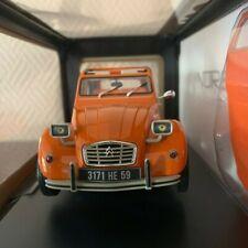 NOREV Citroën 2CV 6 1975 Echelle 1:18 Voiture Miniature - Ténéré Orange (181514)