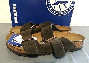 Birkenstock Arizona BS Suede Leather Sandals EUR 38, 39, 40 Mocha - 1G_06