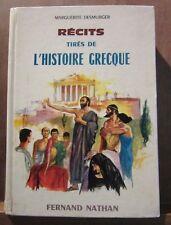 Marguerite Desmurger: Récits tirés de l'histoire grecque/ Fernand Nathan