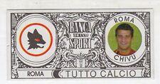 figurina - TUTTO CALCIO EURO MONETE  - ROMA CHIVU