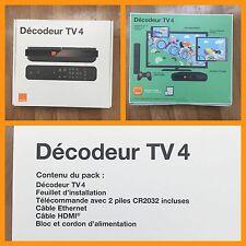 Décodeur TV4 Orange