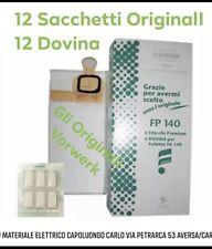 Vorwerk Folletto 6 Sacchetti e 6 Profumi Originali per Aspirapolvere Foletto 140, 150