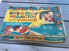 CHAD VALLEY.GIVE A SHOW PROJECTOR.WITH ORIGINAL SLIDES.1961