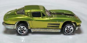 Hot Wheels Classics '63 Chevy Corvette Antifreeze 1/64 Diecast Loose Chevrolet