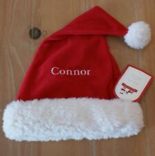 New Pottery Barn Kids Christmas SANTA Hat - CONNER - Small