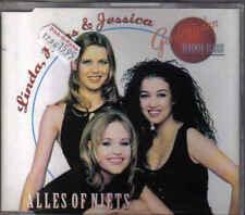 Linda Roos &Jessica-Alles of niets cd maxi single