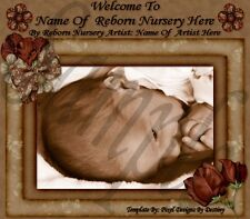 ~~SWEET INNOCENCE REBORN BABY AUCTION TEMPLATE WITH FREE LOGO~~DOUA