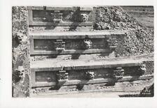 Templo De Quetzalcoatl Teotihuacan Mexico RP Postcard  235a