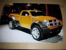 CHRYSLER Dodge M80 concetto-DETROIT MOTORSHOW 2002 - 2 supporti di stampa fotografie