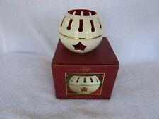 Lenox Christmas Jingle Bell Votive Candle Holder Seasonal Brites 797578