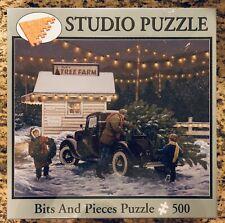 "Bits & Pieces John Sloane's ""Tree Farm""  500 Piece Puzzle-NIB"