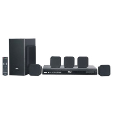 New WiFi Home Theater System 5.1 Surround Sound Speakers + Blu-ray DVD Player