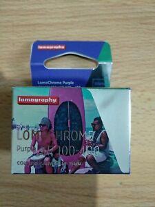 Lomography Lomochrome Purple 35mm Film XR 100-400 2018 formula 36 exp C-41