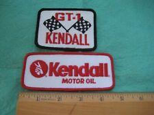 Vintage Kendall Racing Motor Oil Set Service Dealer Uniform Patch