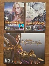 Guild Wars Nightfall Collector's Edtion + Game of the Year Edition + Expansion