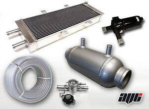 "AVT 4"" x 10"" 350BHP Turbo Water Chargecooler Barrel Intercooler Kit"
