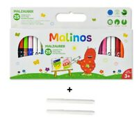Malinos Malzauber Stifte Zauberstifte Magic Pens 25 Stifte + 2Extra Zauberstifte