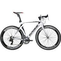 700C Road Bike Aluminium Frame 14 Speed Road Racing Bikes Mens Bicycle 54cm Cycl