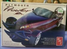 Plymouth Prowler Model Kit Amt1083M/12 1:25 Scale Snap-Together Assembly Nib