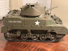 Ultimate Soldier 21st Century GI Joe 1/6 WWII M5 Stuart Tank Remote Control