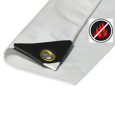 10x20Canopy Tarp with valance  (Tent Replacement Cover only) Fire Retardant
