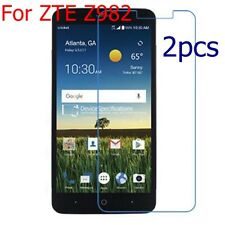 2Pcs HD 9H hard Premium Tempered Glass Film Cover Screen Protector For ZTE Z982