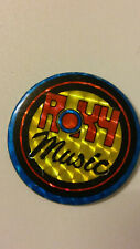 Roxy Music British rock group logo vintage buttons LARGE BUTTON