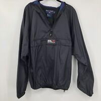Vintage 90s Polo Sport RLX Windbreaker Anorak Jacket Size L Ralph Lauren Rare
