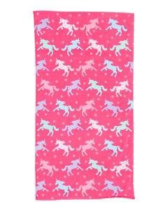 """NWT Unicorn Silhouette Beach Towel 36"""" W x 68"""" L"""