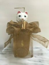 Spectacularly Ugly Crazy Cat Lady – Kitty Christmas Tree Angel Tree Topper