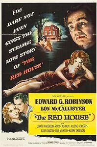 The Red House 1947 Edward G. Robinson, Lon McCallister Mystery Drama DVD