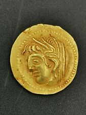 Ancient roman Greek gold stater coin of rare unknown King, 5.98 gram
