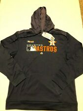 Majestic MLB Houston Astros Men's  Fleece Hoodie  2019 NWT Size: XL