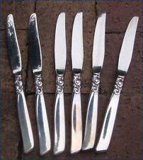 Vintage Community Plate ONEIDA South Seas Silverplate Dinner Knives x6 + More