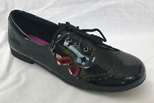 New Clarks Girls Dolly Up Black Patent Leather School Shoe F & G Fitting