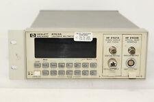 HP 8153A + 2 pcs HP POWER SENSOR 81531A 800-1700mm AND HP OPTICAL HEAD INTERFACE