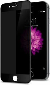 for iPhone SE 2020 8/7/6 Full Coverage Screen Protector Tempered Glass Anti-Spy