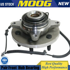 MOOG For 2011-2013 2014 Ford F-150 Expedition Navigator Front Wheel Bearings&Hub