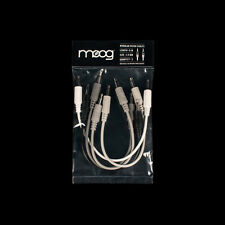 """Moog Mother-32 Eurorack Analog Synthesizer 1/8"""" TS Patch Cable 5-pack 6"""""""