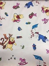 Disney's Winnie the Pooh, 100% Cotton Fabric Material For Craft and Dress