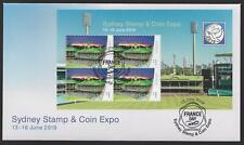 Australia First Day Cover FDC - 2019 Sydney Stamp Coin Expo: SCG M/S (Valid FDC)