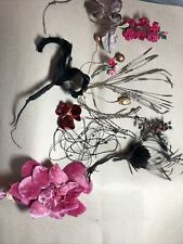 vintage millinery Flowers, Feathers, Stamens