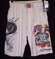 New Men's Ed Hardy Shorts Beach Lounge Sleep Pyjama Christian Audigier RRP$89